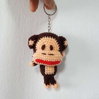 Knitted Keychain
