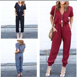 Stylish jumpsuit/ 3 colours/ all sizes available