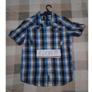 JAG Premium Blue Checkered Polo