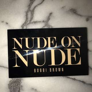 Bobbi Brown Nude On Nude Palette Limited Edition