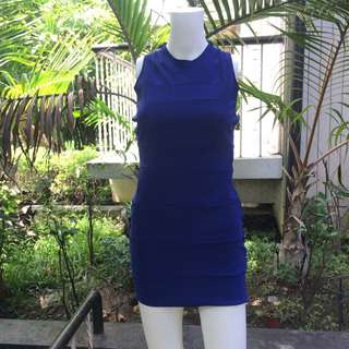 Unbranded Blue Sexy Dress