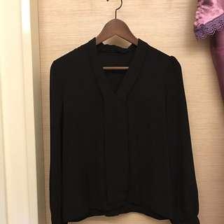 全新優質黑襯衫