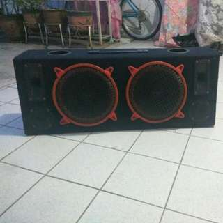 10inch Double Sub Woofer