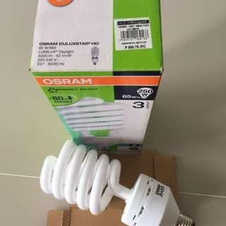 65w OSRAM Spiral Daylight Bulb