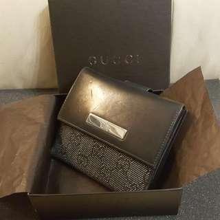 Gucci Classic Wallet Gucci 黑色 銀包