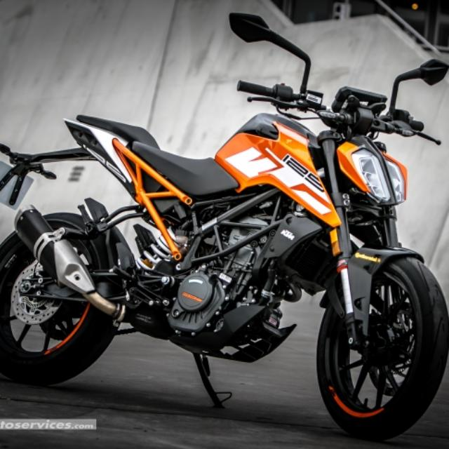 2018 ktm125 duke motorbikes motorbikes for sale class 2b on carousell. Black Bedroom Furniture Sets. Home Design Ideas