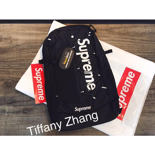 2017 SS Supreme Backpack 42th 後背包 Box Logo