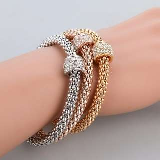 BN 3Pcs Chain Bangle/Bracelets