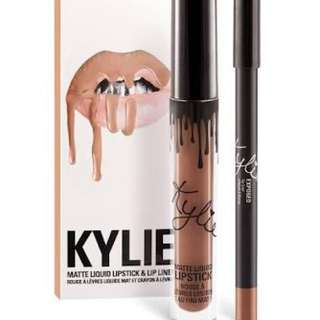 Kylie Exposed Matte Lipstick And Lip liner