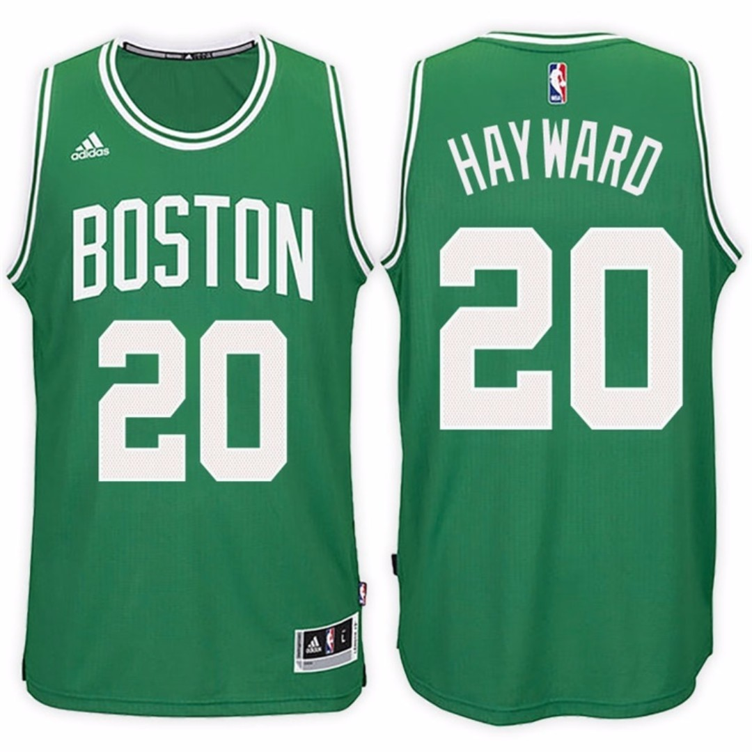 on sale 88d18 eeb87 20 Gordon Hayward Celtics jersey green/white, Men's Fashion ...