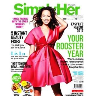 Simply Her January 2017 Magazine