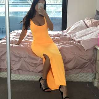 Kookai Fluro Orange Dress