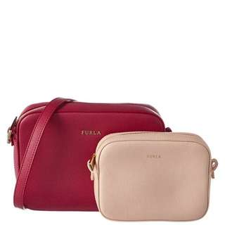 (Price Reduced) Furla Travel Crossbody 2-in-1 Set