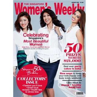 Women's Weekly - August 2015 Magazine Collectors' Issue