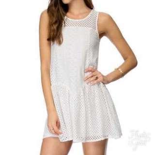 Panelled Dress (Lavander)