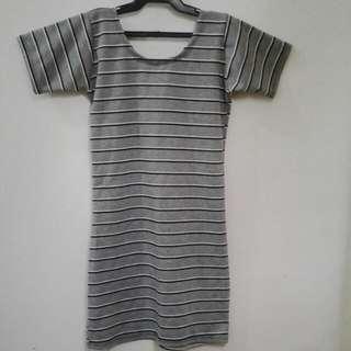 Low Back Bodycon Dress