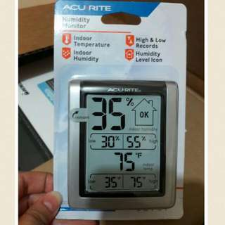 Acurite Humidity Monitor