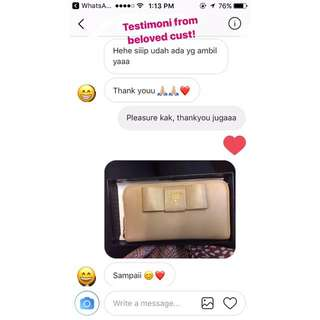 Testimoni From Lovely Cust😘