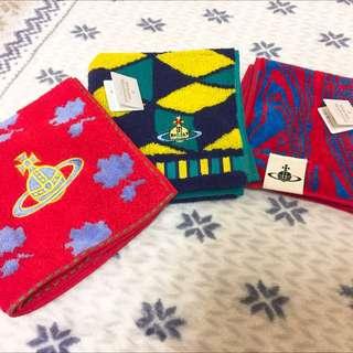 Vividness Westwood 毛巾質手帕