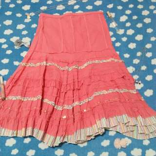 Marks & Spencer Pink Skirt