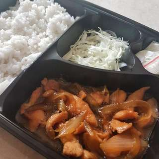 Cherish Lunch Box - Nasi Ayam Teriyaki