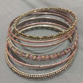 Pink Gold India Bracelet