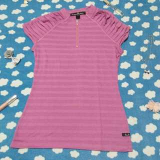 Purple Kamiseta Blouse
