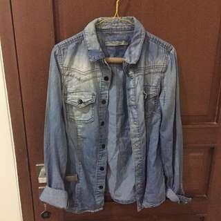 Zara TRF jeans jacket