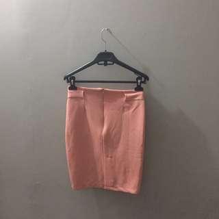 Rok Span Peach (Skirt)