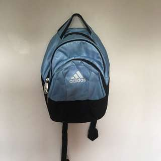 Baby Blue Adidas Back Pack