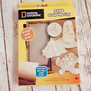 National Geographic Sand Sculpting Clay
