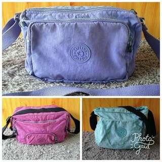 Authentic Kipling Bags