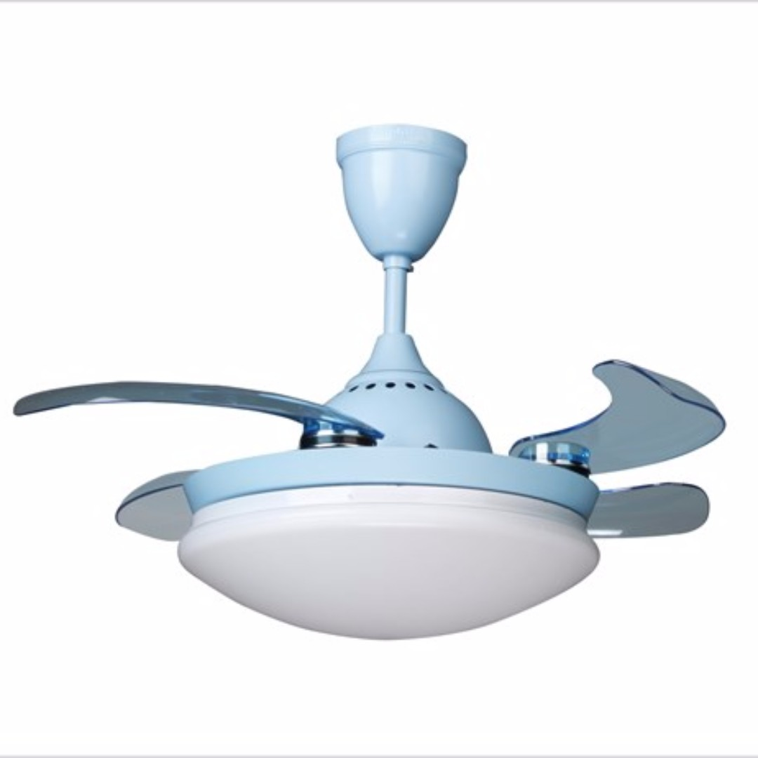 Sapphire 32 Retractable Ceiling Fan With Super Bright Led Light Free Delivery Installation Furniture Home Decor On Carou