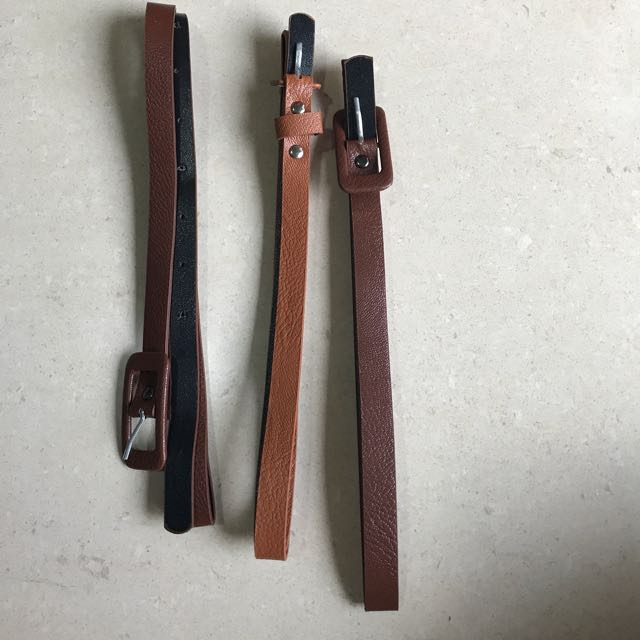 3 Belts For Rp 75.000