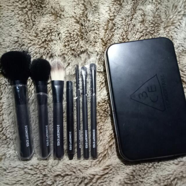3 CONCEPT EYES mini brush kit