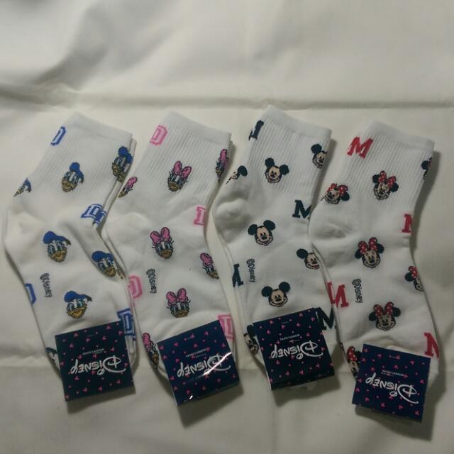 正韓小精品 迪士尼 經典人物 造型 棉襪