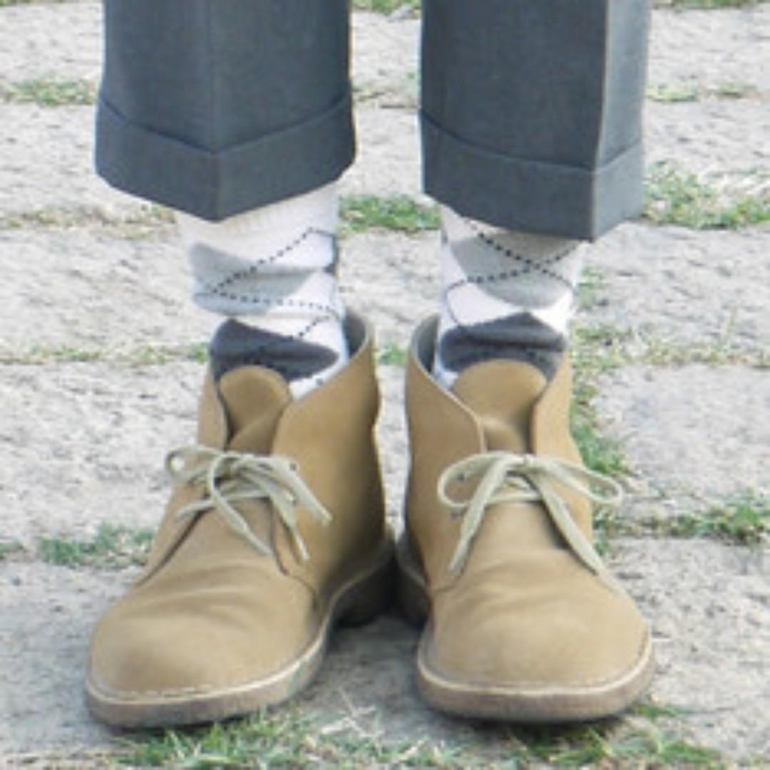 [純實拍圖] Clarks Desert Boots 沙色沙漠靴 Wallabee martens redwing可參考