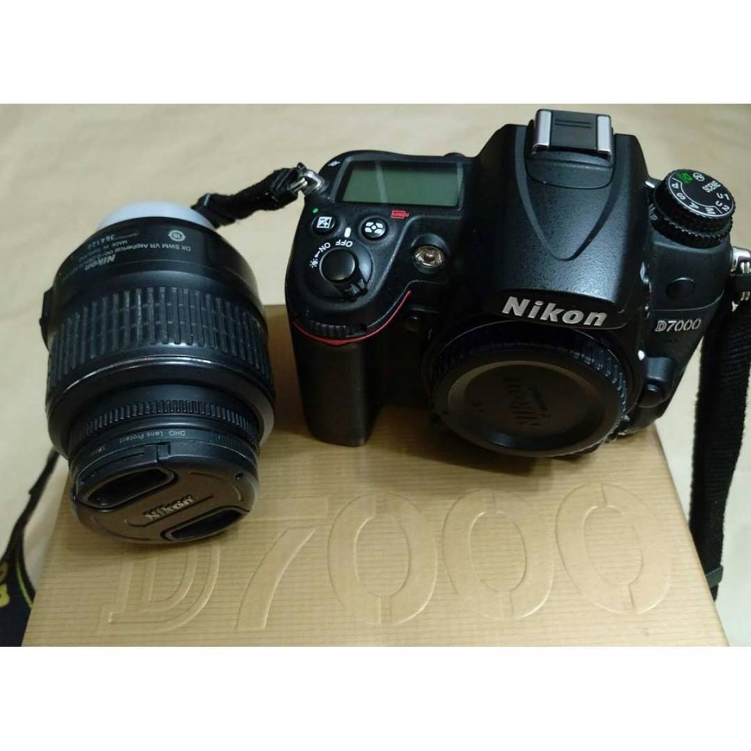 NIKON D7000 +18-55MM 鏡頭