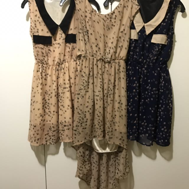 A BUNCH OF DRESSES