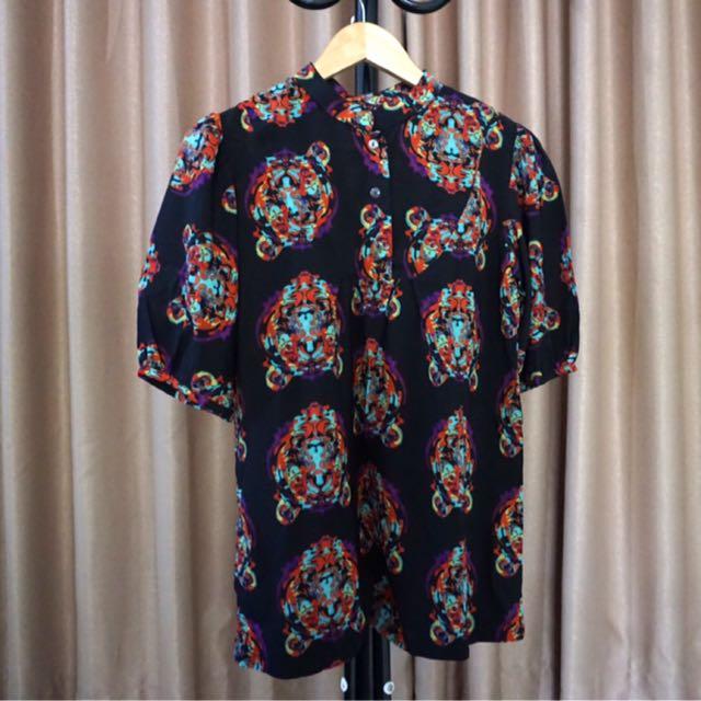 Abstract Black Shirt