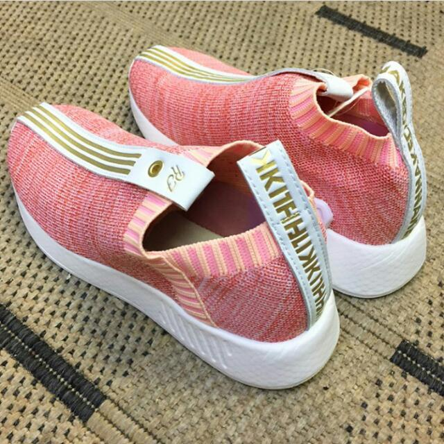 Adidas Naked Kith In Pink And Gray