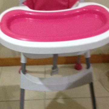 Adjustable Height Baby High Chair