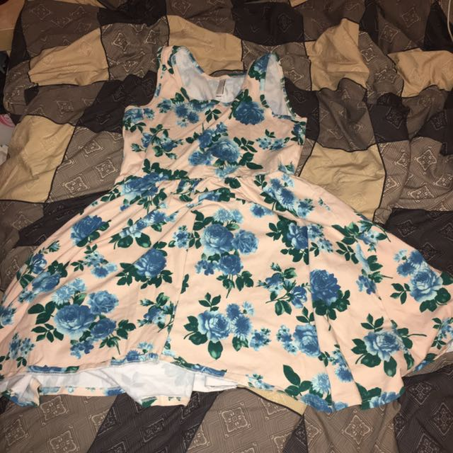 American Apparel Flower Dress