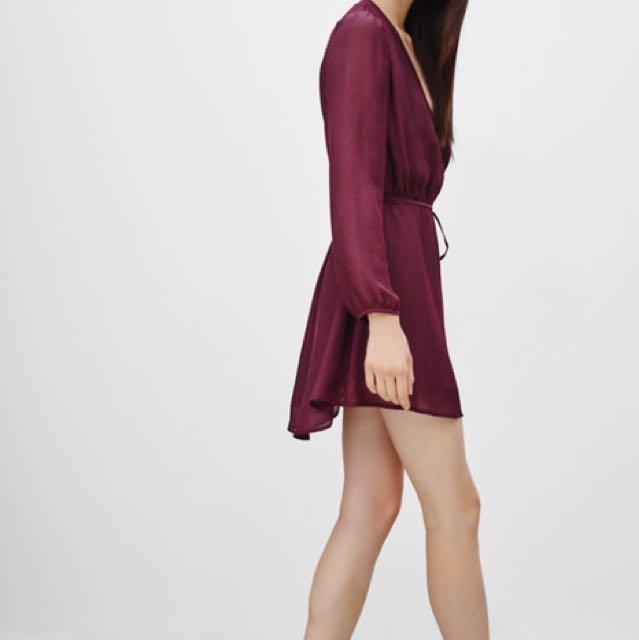 Aritzia Talula Basing Dress L