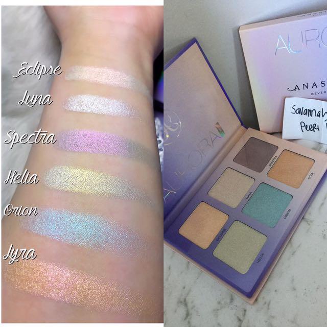💯authentic ABH AURORA Glow Kit