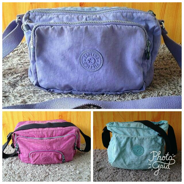 Authentic Kipling Bags