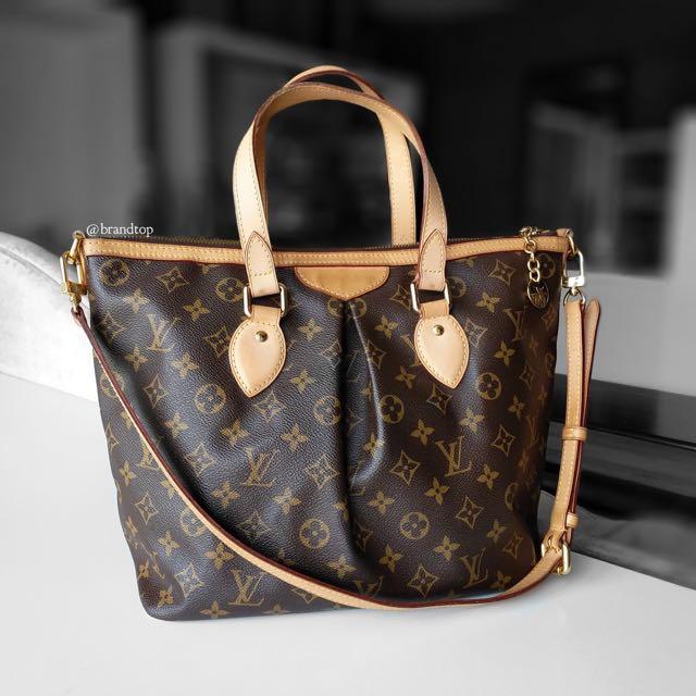 dba4e94d4863 Authentic Louis Vuitton Palermo PM