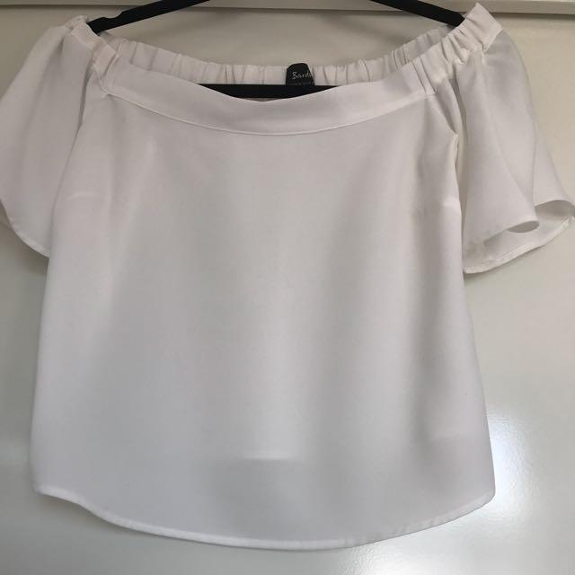 BARDOT Off Shoulder Top (Size 10)