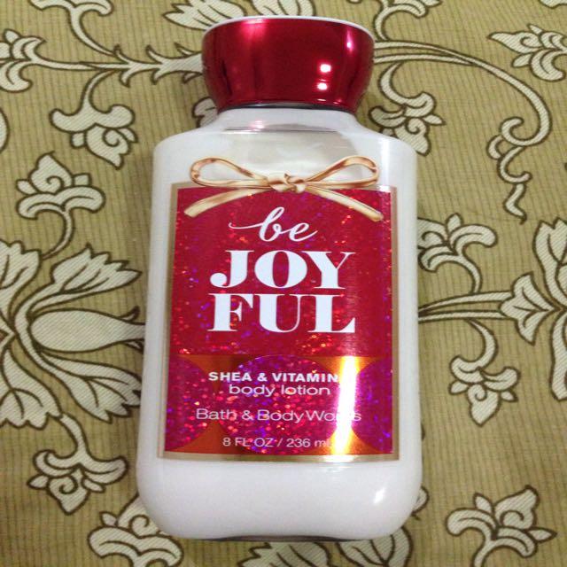 Bath and Body Be Joy Shea & Vitamin E