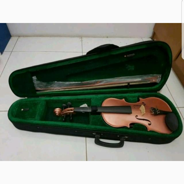 Biola / Violin GIUSEPPI GV-10 3/4 Case and Bow - PINK